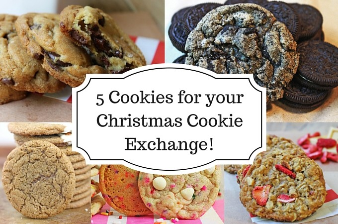 5 Cookies for your Christmas Cookie Exchange!