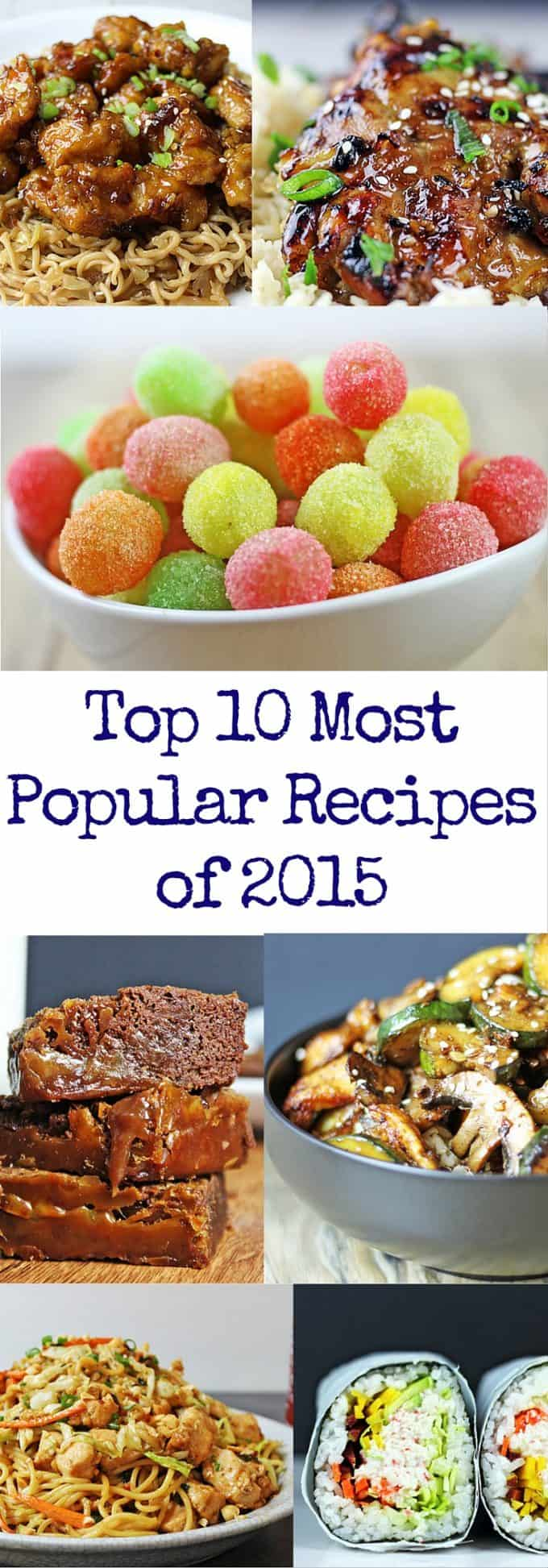 Top 10 Most Popular Recipes of 2015 with a couple desserts a fair amount of copycat recipes and lots of 5 ingredient meals! | dinnerthendessert.com