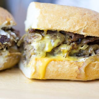 The undisputed king of cheese steak subs, the magic is in the technique of Pat's famous Cheese Steak.