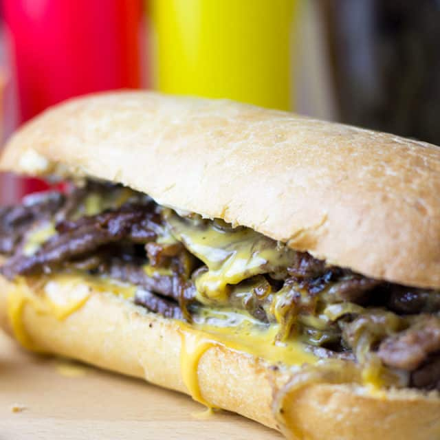 The undisputed king of cheese steak subs, the magic is in the technique of Pat's famous Cheese Steaks.0