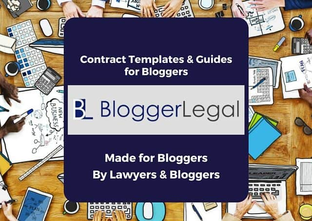 Blogger Legal - Contract Templates and Guides for Bloggers