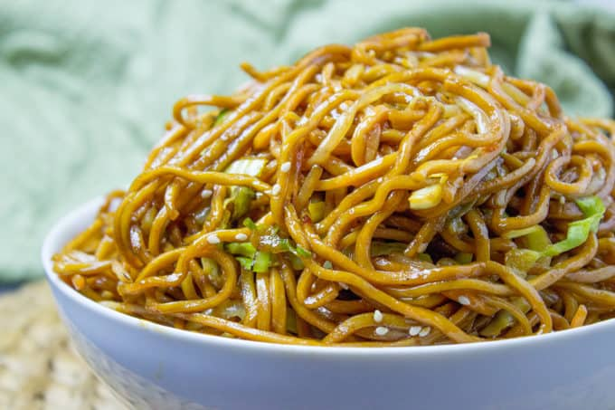 Chow Mein (Chinese Noodles) - one of the most popular Chinese noodles ...