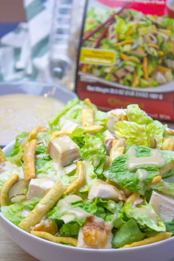 Costco Chinese Style Salad Kit Copycat Dinner Then Dessert