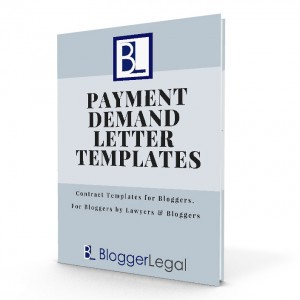 Blogger Legal - Payment Demand Letter Templates