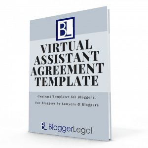 Blogger Legal - Virtual Assistant Agreement Template