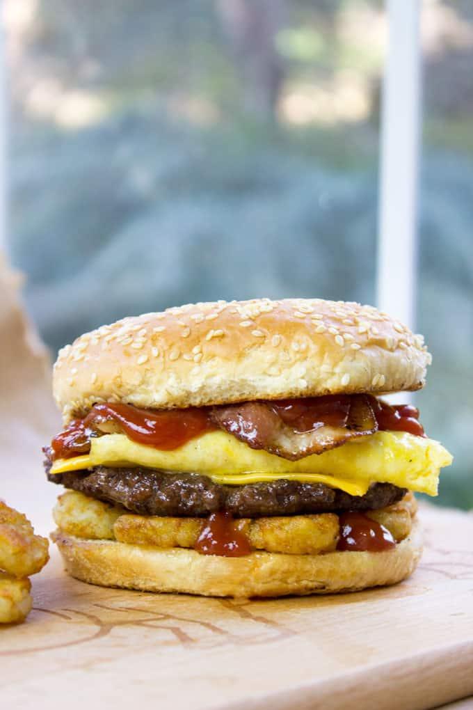 Carl S Jr Breakfast Burger Copycat Dinner Then Dessert