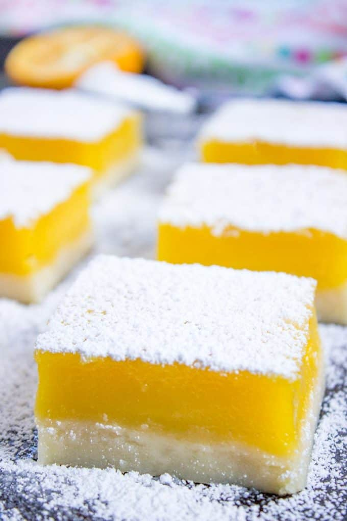 Easy Lemon Bars 5 Ingredients Dinner Then Dessert