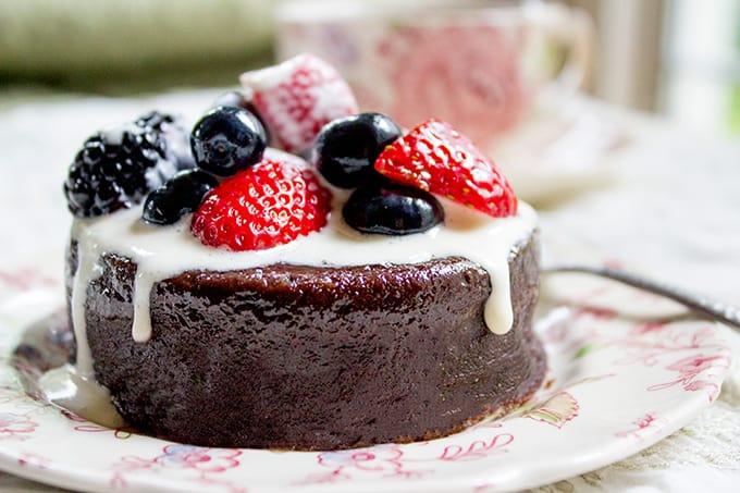 Flourless Avocado Chocolate Cake