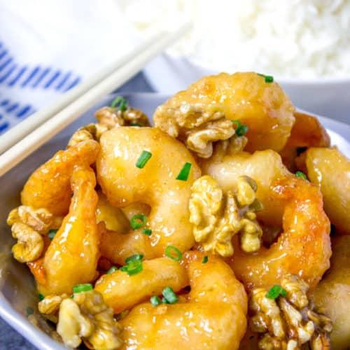 Panda Express Honey Walnut Shrimp Dinner Then Dessert