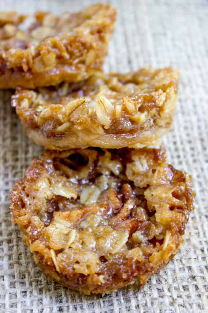 Apple Crisp Cookies Dinner Then Dessert