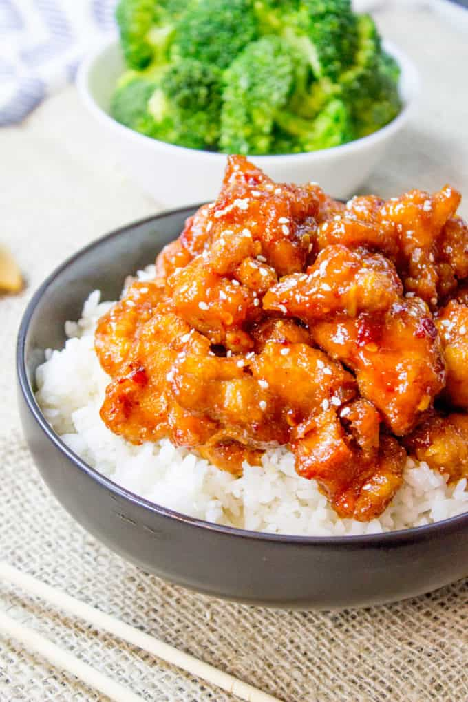 Easy General Tso S Chicken Recipe Dinner Then Dessert