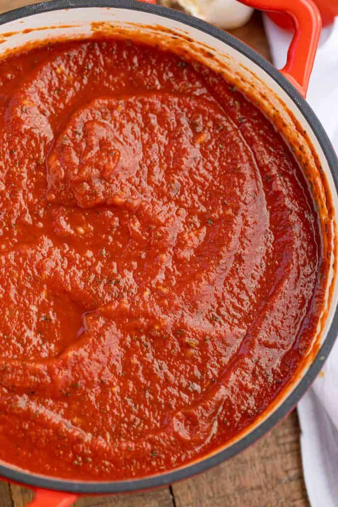Easy Marinara Sauce {BEST Base Recipe