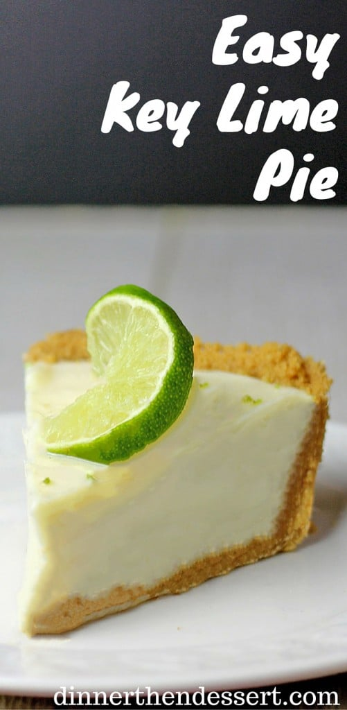 Easy Key Lime Pie with just six ingredients in 15 minutes. A perfect summer dessert thats sweet, tart and buttery!