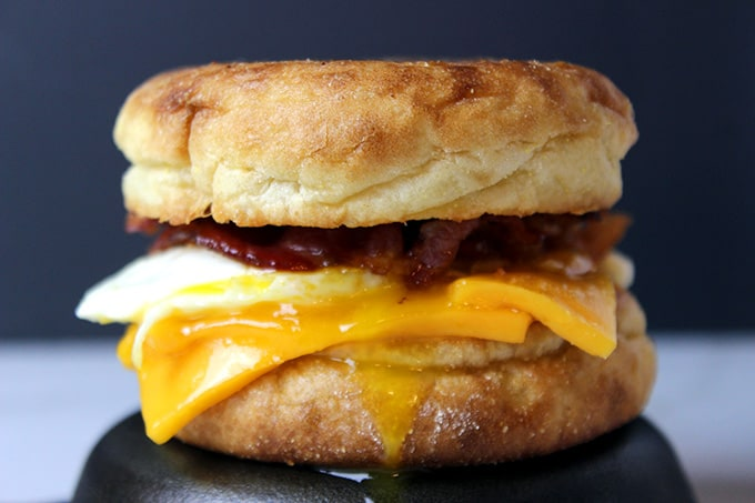 Egg, Bacon and Cheese McMuffin (Copycat) - Dinner, then Dessert