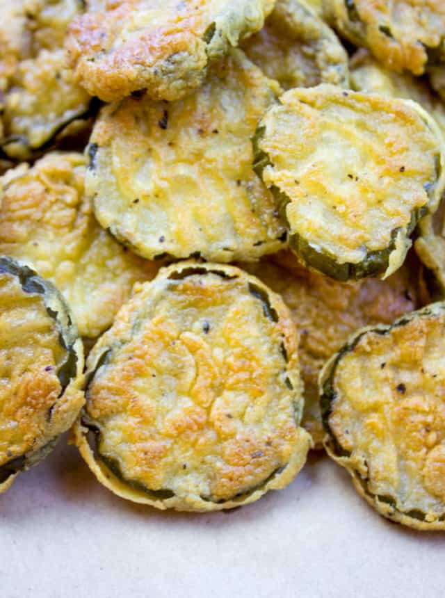 homemade Fried Pickles that are easy to make