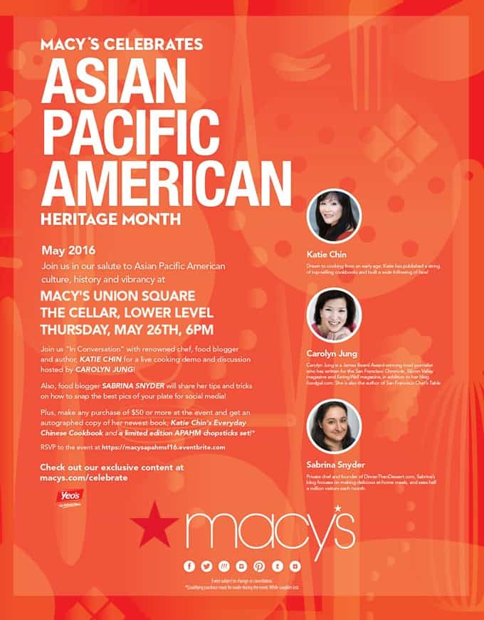 Macy's Asian Pacific American Month Event in Union Square