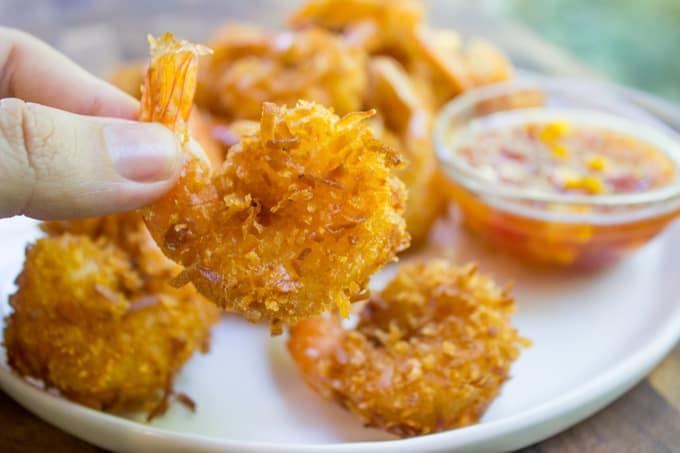 Coconut Shrimp with Mango Habanero Sauce - Dinner, then ...