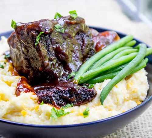 Braised Short Ribs Easy Short Rib Recipe Dinner Then Dessert