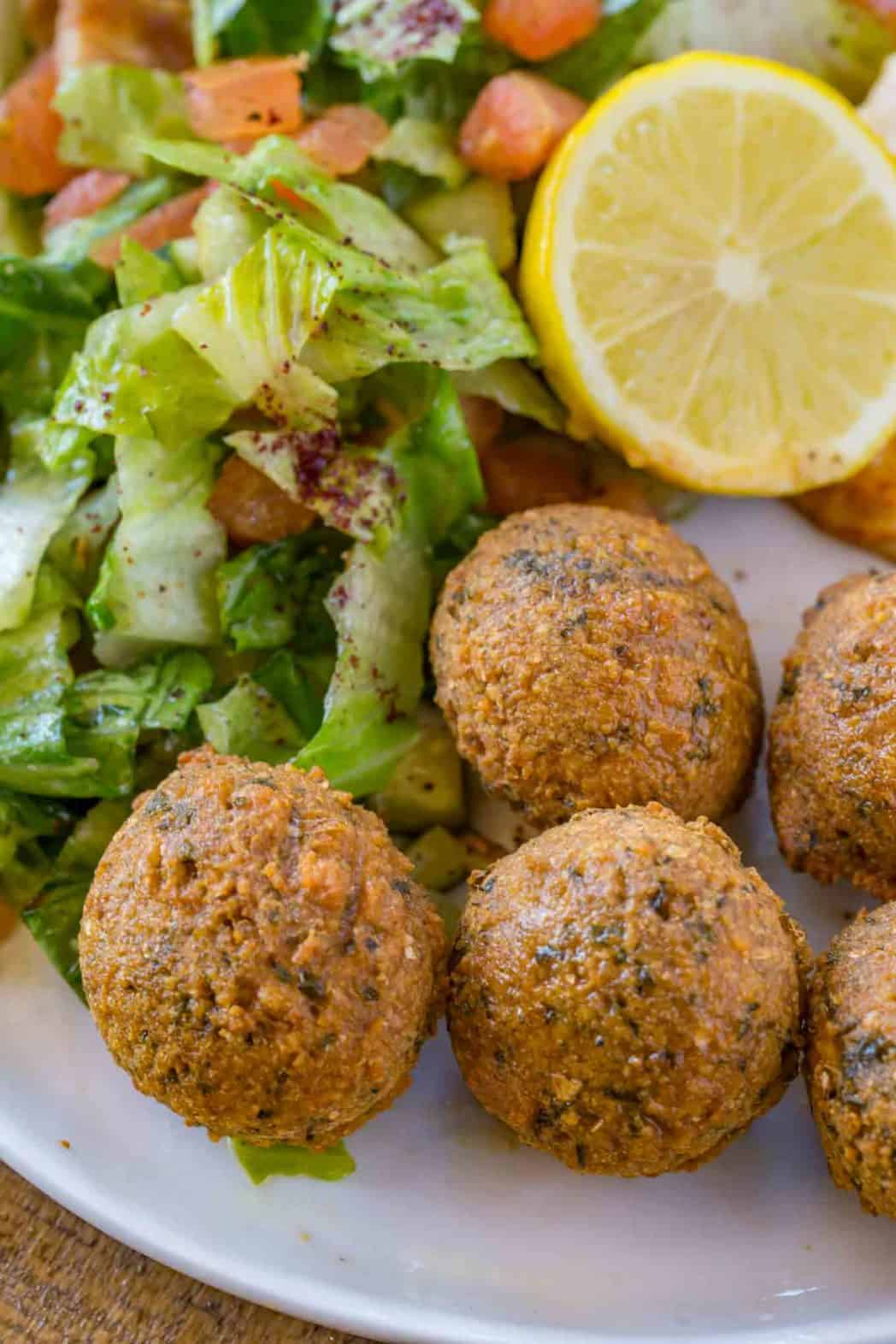How to make falafel with a falafel recipe with  no canned beans