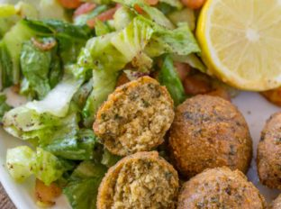 falafel ingredients make this falafel recipe vegan