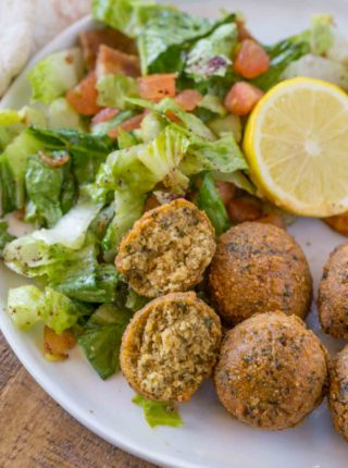 falafel ingredients make this falafel recipe vegan
