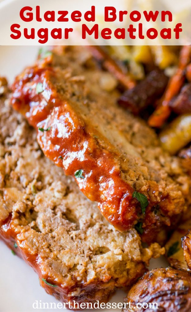 meatloaf with brown sugar glaze recipe