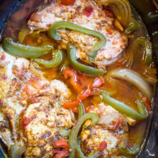 how to make chicken fajitas in slow cooker