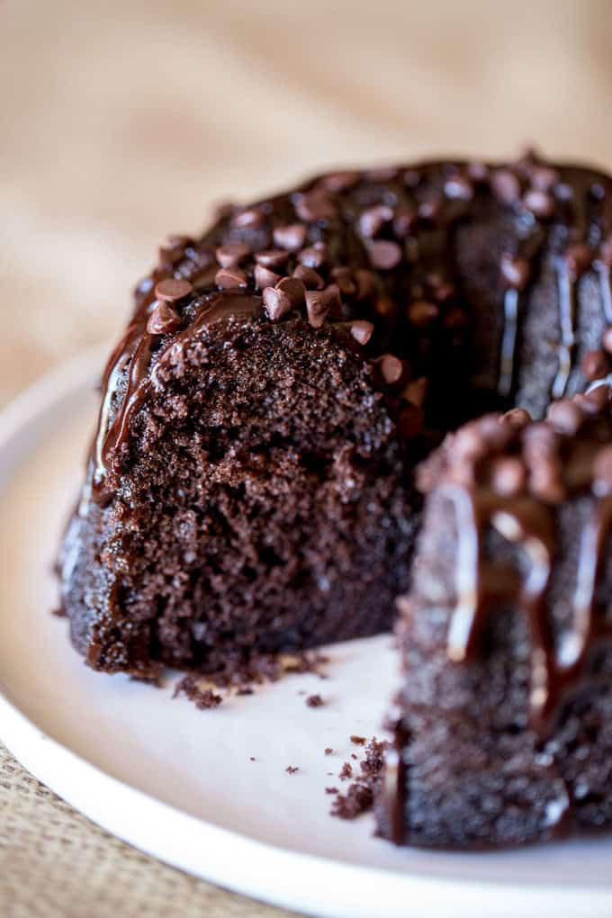 Triple Chocolate Bundt Cake Dinner Then Dessert
