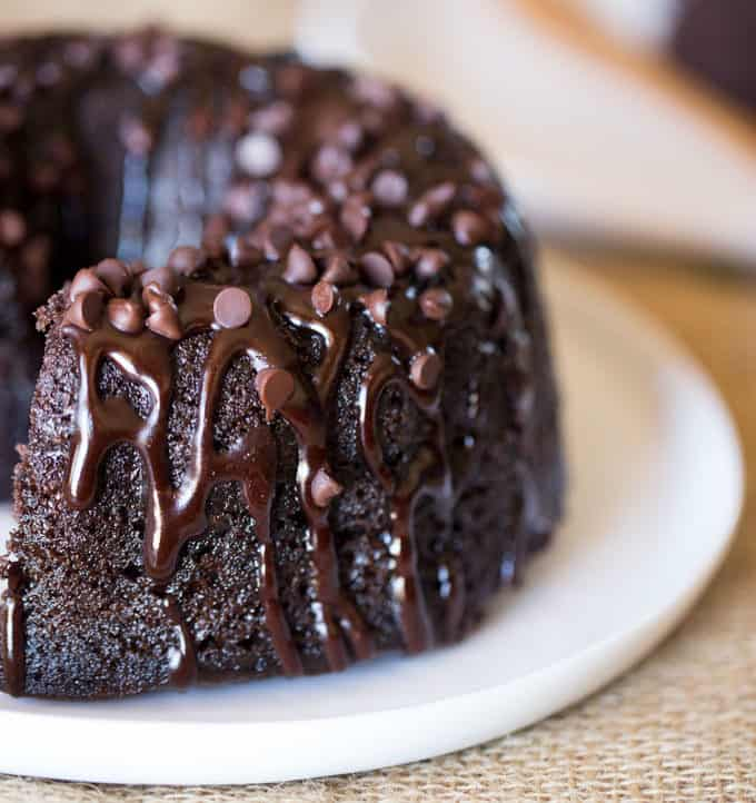 Triple Chocolate Bundt Cake With The Richest Made From Scratch And Covered In A