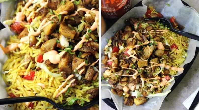 Halal Cart Chicken and Rice (Copycat) - Dinner, then Dessert