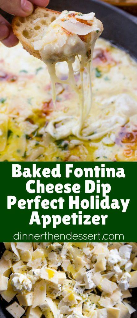 Ina Garten Appetizer Recipes baked fontina cheese dip - dinner, then dessert
