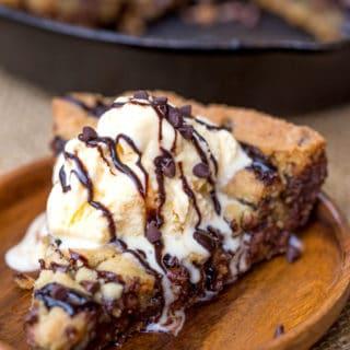 Chocolate Chip Pizookie