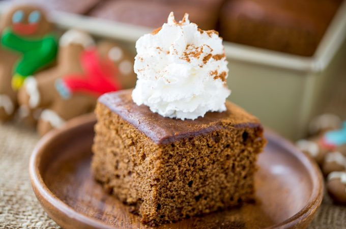 Classic Gingerbread Cake