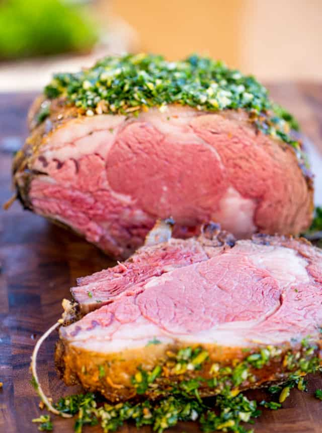 How to make Prime Rib perfectly seasoned and cooked