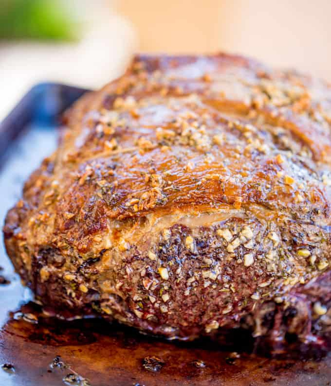 how to make prime rib with delicious herb crust