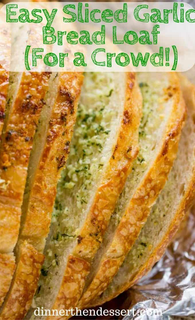 how to make garlic bread in oven