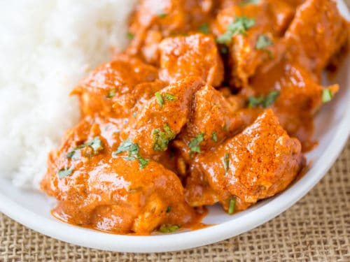 Slow Cooker Indian Butter Chicken Recipe Dinner Then Dessert