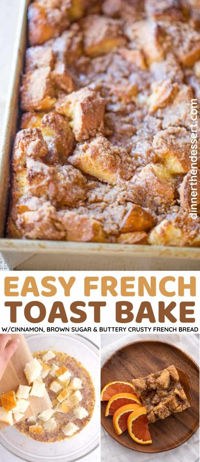 Easy French Toast Bake Collage