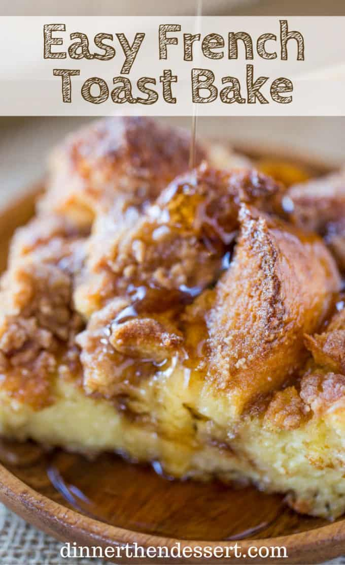 easy french toast bake not overnight