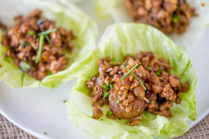 P.F. Chang's Asian Chicken Lettuce Wraps