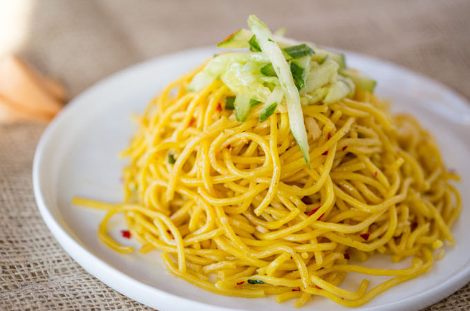 P.F. Chang's Garlic Noodles (Copycat)
