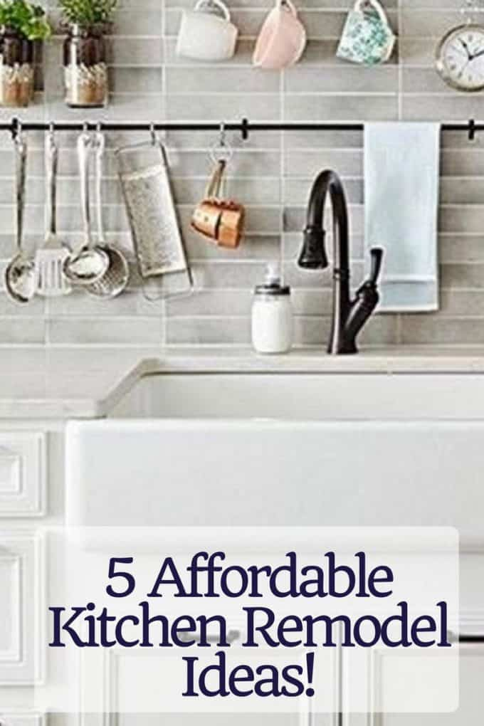 5 Affordable Kitchen Remodel Projects
