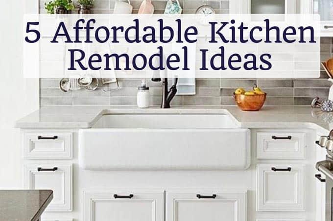 Affordable Kitchen Upgrades - Dinner, then Dessert
