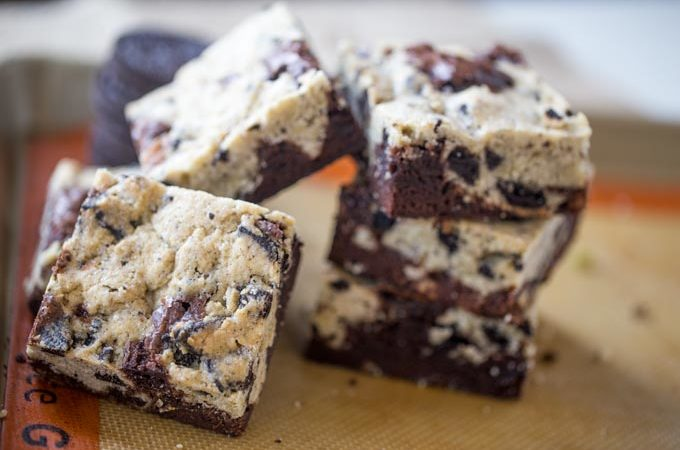 Oreo Chunk Brookies