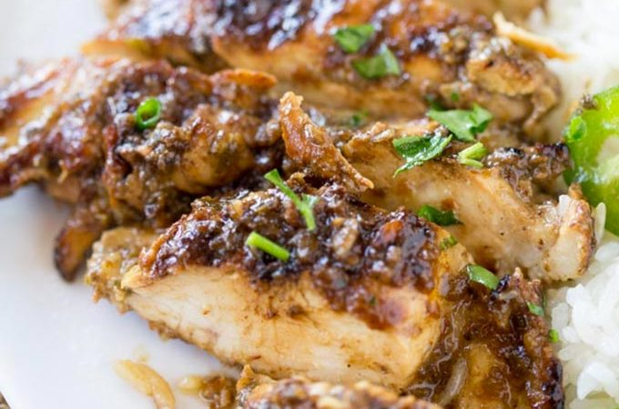 Easy Grilled Jerk Chicken