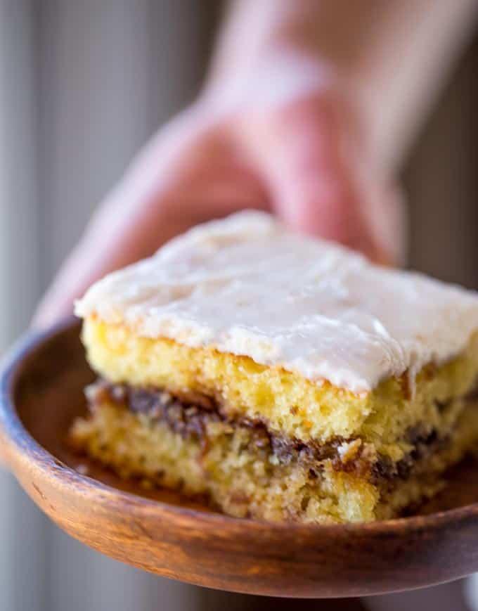Honey Bun Cake Recipe
