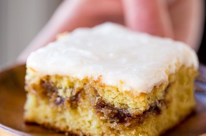 Honey Bun Cake (No Cake Mix!)