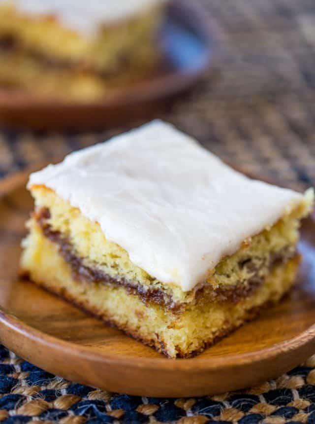 Cinnamon Buns With Yellow Cake Mix
