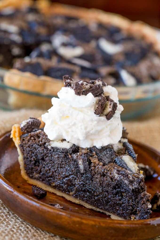 Oreo Chunk Cookie Pie - Dinner, then Dessert