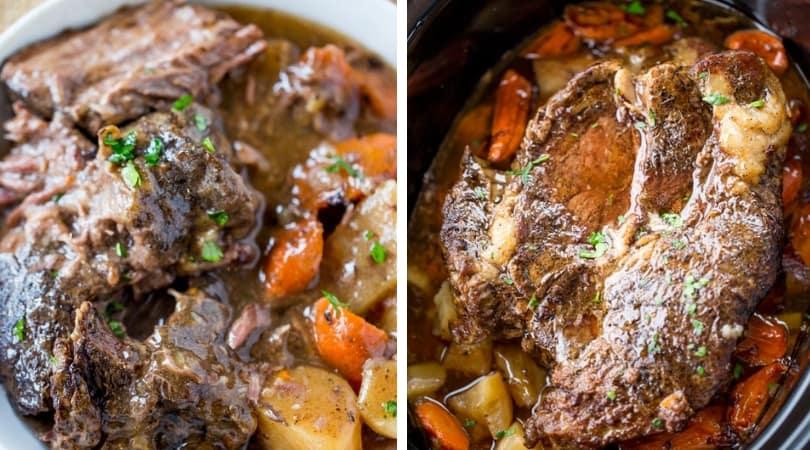 Ultimate Slow Cooker Pot Roast - Dinner, then Dessert